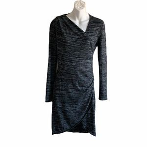 Seven Sisters Ruched Lightweight Knit Dress